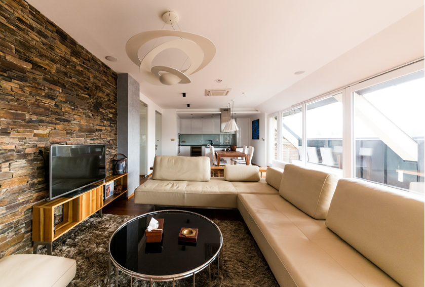 CUPA STONE natural stone adds character to a contemporary ... | furniture stores in brno
